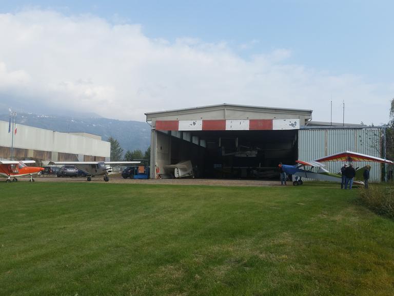 Hangar e parcheggio velivoli